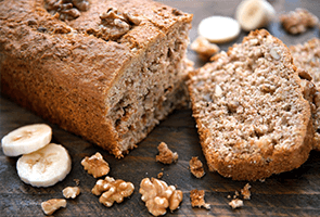 Banana & Walnut Loaf