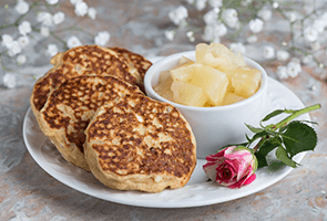 Pineapple and Banana Pancakes