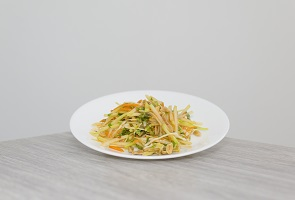 Sweet & Spicy Green Papaya Slaw